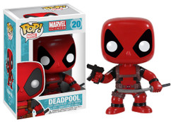 Deadpool - Deadpool Red Pop! Vinyl Bobble Head