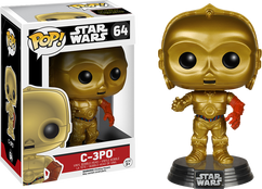 C-3PO Episode 7 - Star Wars - Pop! Movies Vinyl Figure