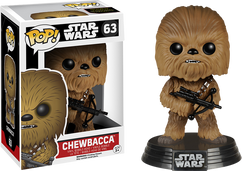 Chewbacca Episode 7 - Star Wars - Pop! Movies Vinyl Figure