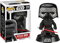 Kylo Ren (No Hood) Episode 7 - Star Wars - Pop! Movies Vinyl Figure