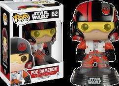 Poe Dameron Episode 7 - Star Wars - Pop! Movies Vinyl Figure
