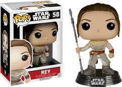 Rey Episode 7 - Star Wars - Pop! Movies Vinyl Figure
