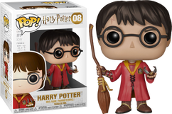 Harry Potter - Harry Potter Quidditch Pop! Movie Vinyl Figure