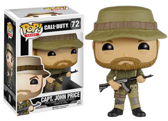 CAPT. John Price - Call of Duty Ghosts - Pop! Games Vinyl Figure