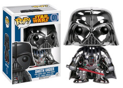 Darth Vader Chrome Version - Star Wars Pop! Vinyl Figure