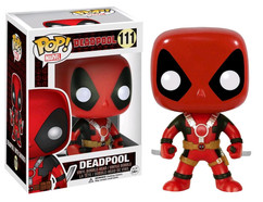 Deadpool Red with Two Swords Pop! MARVEL Vinyl Figure