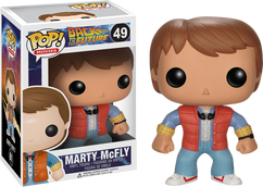 Marty McFly from Back to the Future - Pop Movies Vinyl Figure