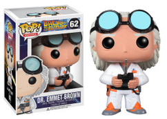 Dr Emmet Brown from Back to the Future - Pop Movies Vinyl Figure
