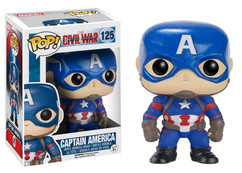 Captain America 3 Civil War - Captain America POP! Marvel Vinyl Figure