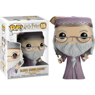 Harry Potter - Albus Dumbledore  with wand - Pop! Movie Vinyl Figure