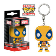 Deadpool Yellow Exclusive - Deadpool - Pop! Vinyl Pocket Pop Keychain