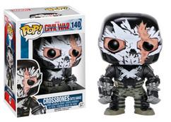 Crossbones Cracked Mask US Exclusive - Captain America 3 Civil War - POP! Marvel Vinyl Figure