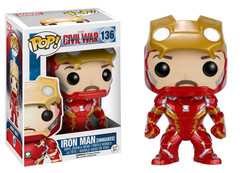 Iron Man Unmasked US Exclusive - Captain America 3 Civil War - POP! Marvel Vinyl Figure