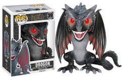 "Game of Thrones - Drogon 6"" US Exclusive POP! Television Vinyl Figure"