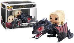 Game of Thrones - Drogon & Daenerys POP! Rides Vinyl Figure