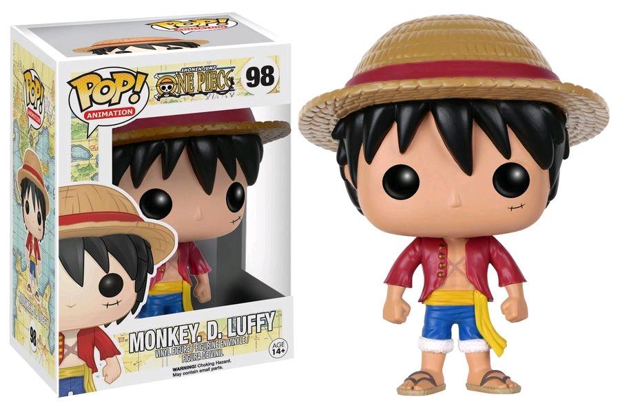 One Piece - Monkey. D. Luffy - Pop! Animation Vinyl Figure 813c75c6134