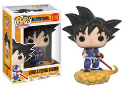 Goku with Flying Nimbus - Dragon Ball Z - POP! Animation Vinyl Figure