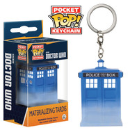 Doctor Who - Materializing Tardis - Pocket Pop! Keychain