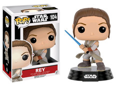 Rey with Lightsaber - Star Wars Pop! Vinyl Figure