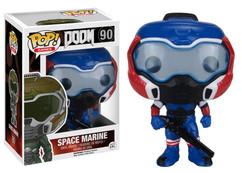 Doom - Space Marine American Hero Pop! Games Vinyl Figure