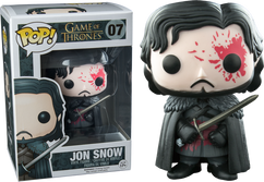Jon Snow 'Bloody' Exclusive Game of Thrones - Pop! Movies Vinyl Figure