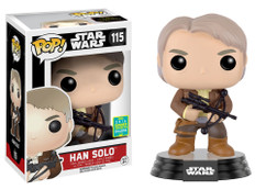 Han Solo with Bowcaster - Star Wars - SDCC Exclusive - Pop! Vinyl Figure