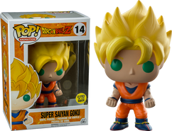 Super Saiyan Goku Glow in The Dark Dragon Ball Z - Pop! Vinyl Figure
