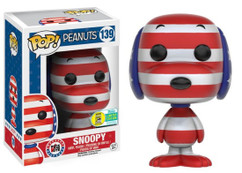 Snoopy Rock the Vote SDCC Exclusive - Peanuts Pop! Vinyl Figure