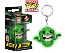 Ghostbusters - Glow in the Dark Slimer Pocket Pop! Keychain