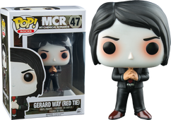My Chemical Romance - Gerard Way with Red Tie US Exclusive POP! Rocks Vinyl Figure