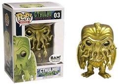 Metallic Cthulhu Exclusive - H.P. Lovecraft - Pop! Vinyl Figure