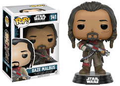 Star Wars Rogue One - Baze Malbus Pop! Vinyl Bobble Head Figure