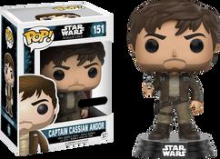 Star Wars Rogue One - Captain Cassian Andor Brown Uniform US Excluive Pop! Vinyl Figure