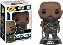 Star Wars Rogue One - Saw Gererra US Exclusive Pop! Vinyl Figure