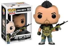 Call of Duty - John SOAP MacTavish  Pop! Games Vinyl Figure