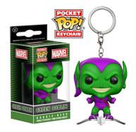 Spider-Man - Green Goblin on Glider Pocket! Pop Vinyl Keychain