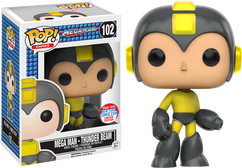 Mega Man - Thunder Beam Mega Man 2016 NYCC Exclusive Pop! Games Vinyl Figure 2016 NYCC Exclusive