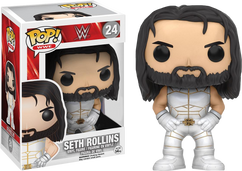 WWE - Seth Rollins White Outfit US Exclusive Pop! Vinyl Figure