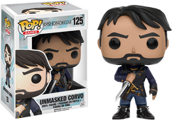 Dishonored 2 - Corvo Unmasked US Exclusive Pop! Games Vinyl Figure
