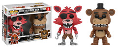 Five Nights at Freddy's - Freddy and Foxy US Exclusive Pop! Vinyl Figure 2-Pack
