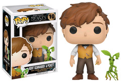 Fantastic Beasts - Newt & Pickett US Exclusive Pop! Vinyl Figure