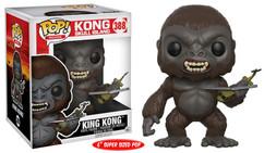 King Kong: Skull Island - King Kong 6-Inch Pop! Vinyl Figure