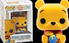 Winnie the Pooh - Seated Pooh Flocked US Exclusive Pop! Vinyl Figure