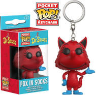 Dr. Seuss - Fox in Socks Pocket Pop! Key Chain