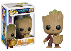 Guardians of the Galaxy: Vol 2 -  Baby Groot Ravager with Patch US Exclusive Pop! Vinyl Figure