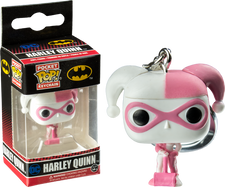Batman - Harley Quinn Pink US Exclusive Pocket Pop Key Chain