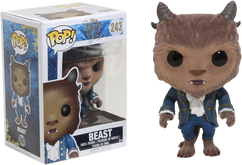 Beauty and the Beast (2017) - Beast Flocked US Exclusive Pop! Vinyl Figure