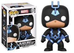 Black Bolt (Blue) US Exclusive Pop! Vinyl Figure
