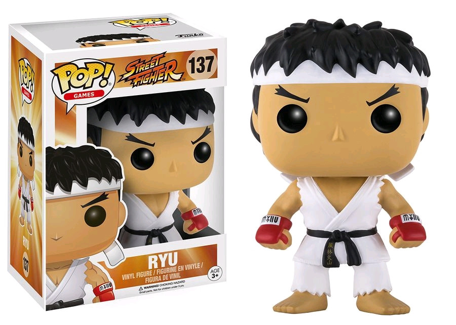 Ryu US Exclusive Pop Street Fighter Vinyl Figure NEW Funko Special Attack