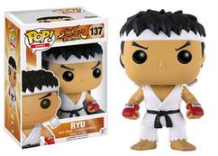 Street Fighter - Ryu White Headband US Exclusive Pop! Vinyl Figure